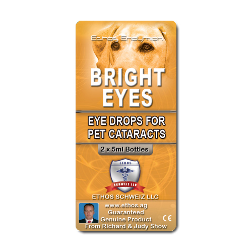 Carnosine Eye Drops for Pets Cataracts